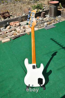 KRAMER Rock Blues Jazz Bass Electric Guitar Lefty Left Handed Gibson Tuners USA
