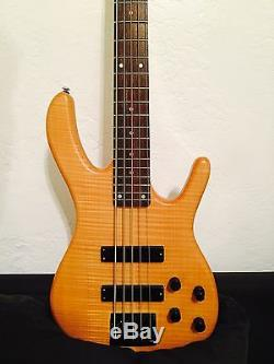 Ken Smith Design DELUXE 5 String Bass UPGRADED With AGUILAR preamp GOTOH TUNERS