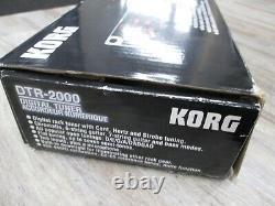 Korg DTR-2000 Guitar bass tuner stage studio