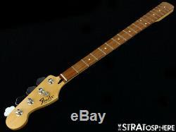 LEFTY 2018 Fender Standard JAZZ BASS NECK & TUNERS J Bass Guitar Pau Ferro