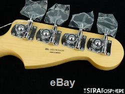 LEFTY Fender Player Precision P BASS NECK & TUNERS Bass Guitar Parts, Maple