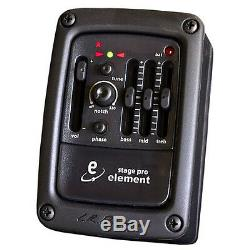 LR Baggs Stagepro Element Preamp/EQ with Chromatic Tuner