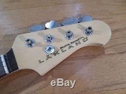 Lakland Skyline 44-60 Joe Osborn Jazz Bass Neck New Hipshot Ultralite Tuners