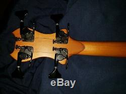 Le Fay D-Tuner Black Bass Guitar Good Condition Professional Quality Instrument