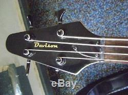 Left Hand Flying V Bass / Lefty Bass New Tuners, Level Frets
