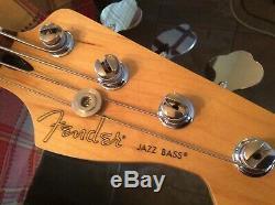 Lindy Fralin Pickups Fender Player Series Jazz Bass -Upgrade Bridge, Tuners, Etc
