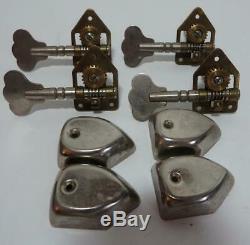 Lot of 1960's Hagstrom Bass Guitar Tuners Tuning Machines Keys Pegs Head