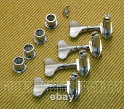 M4L-CHROME Chrome 4-Inline M4 Schaller Bass Tuners