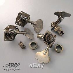 MECA SCHALLER BASSE BM-Aged Reverse G/D P-J BASS MusicMan TUNERS LeftRight RELIC