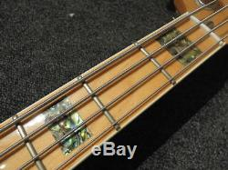 MINT ATELIER Z M#245/70' CTM Pearl Inlay Hipshot D-Tuner Active Jazz Bass WithGB