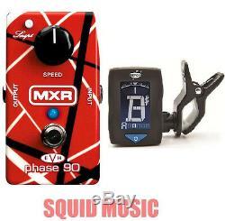 MXR EVH Eddie Van Halen Phase 90 (FREE DUNLOP CLIP ON GUITAR TUNER) EVH90