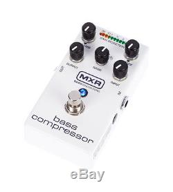 MXR M87 Bass Guitar Compressor Pedal withCable, Tuner, and Setting Saver Pen