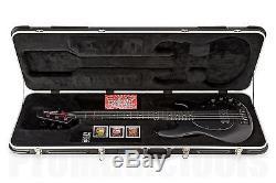 Music Man USA Stingray 4 SBK Stealth Black exc. Cond. D-tuner ebony board