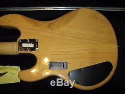 Musicman Man Sting Ray Bass, SH pickups, Hipshot D-tuner, excellent condition