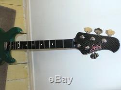 Musicman Stingray/Cutlass Status graphite bass guitar neck+Musicman USA tuners