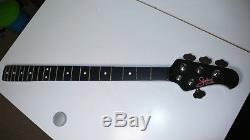 Musicman Stingray Status graphite replacement neck + Musicman USA tuners