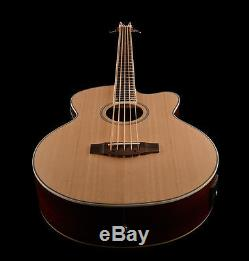 NEW 5 String Electro/Acoustic Bass Guitar Large Scale Built-in Tuner