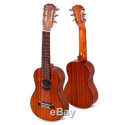 NEW Enya EGL-02 28 Inch Classical Head Tuner Guitalele Rosewood Fingerboard Br