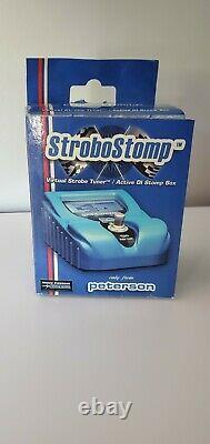 NOS Peterson StroboStomp VS-S Guitar Bass Pedal Tuner Virtual Strobe Active DI