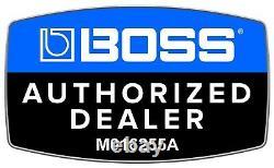 New Boss TU-3s Chromatic Mini Guitar Pedal Tuner FREE Hosa Cables