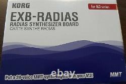 New Korg Exb-Radias for Series m3 Still In Box