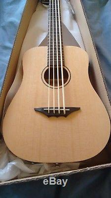New Left Handed Ukulele Bass Electro/acoustic With Built In Tuner + Pickup