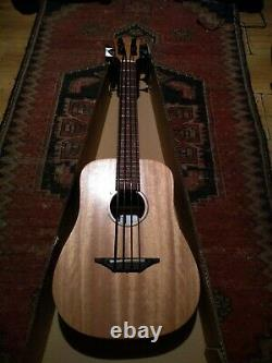 New Nylon String Electro/Acoustic Bass Ukulele With Built in Tuner