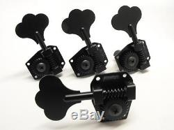 New set hipshot hb1 hb-1 black tuners music man G&L bass (4 in line or 3+1)