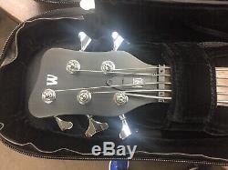 P-Nut 1st Edition Signature Warwick Bass With COA, Rockbag, Tuner, And Metronome