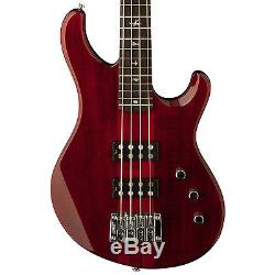 Paul Reed Smith PRS SE Kingfisher Bass Guitar Scarlet Red w Gig Bag Stand Tuner