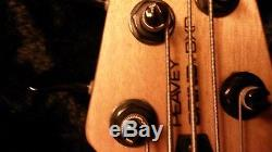 Peavey BXP 5 String Grind Bass Guitar With Case & Tuner