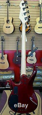 Peavey Max Bass Guitar Pack Gig Bag Tuner Strings Cable Picks Earpads Included