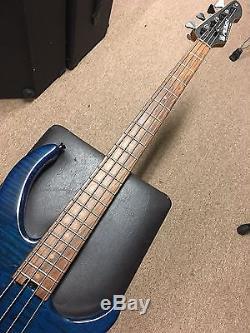 Peavey Millennium Plus USA Bass Hipshot Bridge 18V Preamp Drop D Tuner Maple Top