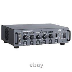 Peavey MiniMAX V2 600-Watt Mini Bass Amp Amplifier Head with Built in Tuner