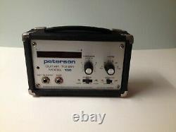 Peterson Model 100 Guitar/bass Tuner Vintage