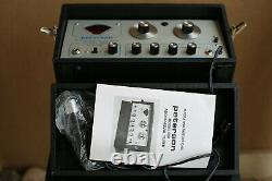 Peterson Model 520 Audio Visual Strobe Tuner in Black with Case Attached