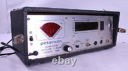 Peterson Strobe Tuner Amp Model 700