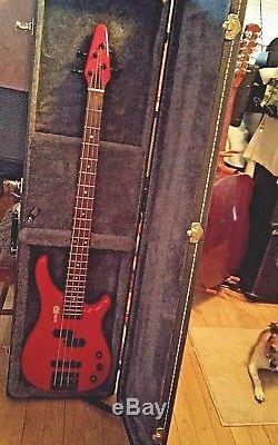 RARE! Series 10 P-J 24 Fret Electric Bass Guitar withHSC, New Strings, Tuner&Strap