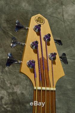 RICK TUNER RB-5 FL Fletless Bass 5Strings