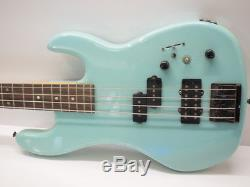 Rare Kramer 4 String Bass F7000 Teal SN B21022 Tuners Made in W Germany