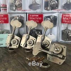 Relic Gotoh Res-O-Lite Bass Tuners GBR640 Precision Bass Fits Fender Jazz