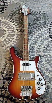 Rickenbacker Bass Guitar 4003 1982 Near Mint Wavy Grover Tuners
