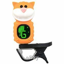 SWIFF Guitar Tuner, Clip-on Guitar, Ukulele, Bass, Violin, Mandolin, Banjo, Cat