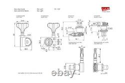 Schaller BM Light Tuners/machine heads 4-String Bass 4line Black 10270401.22.73