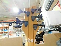 Schecter Damien Platinum 5 STRING BASS Satin Black Guitar -F28