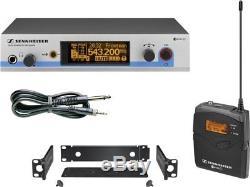 Sennheiser EW572G3-G Wireless System Guitars Bass 5-Band EQ Tuner True Diversity