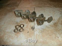 Set of Vintage Early 1970's Fender Bass Tuners! Jazz, Precision, Telecaster
