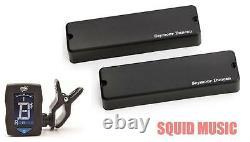 Seymour Duncan ASB-6s Active Soapbar 6 String Bass Phase I Set (FREE TUNER)