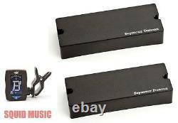 Seymour Duncan ASB2-5s Active Soapbar 5 String Bass Phase II Set (FREE TUNER)