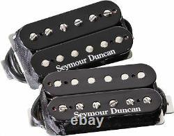 Seymour Duncan Distortion SH-6 Mayhem Black Pickup Set (FREE GUITAR TUNER)